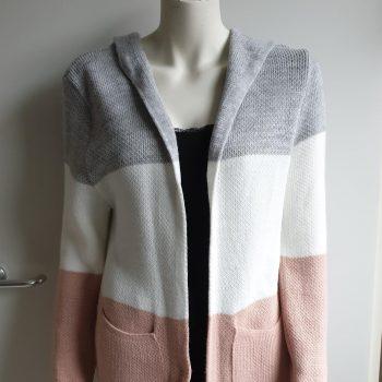 streepjes vest roze