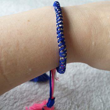 armband kobalt blauw