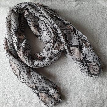 Snake sjaal roze