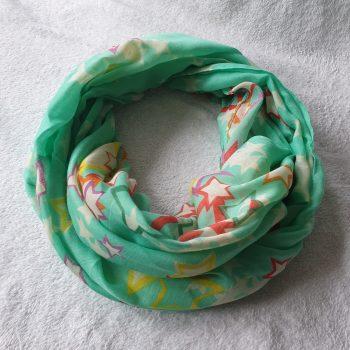 Ster Sjaal mint groen