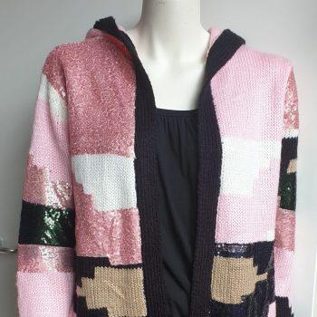 vivian vest roze