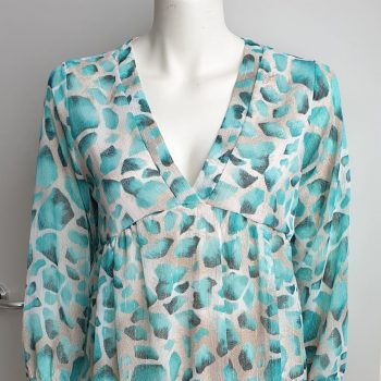 jurk turquoise