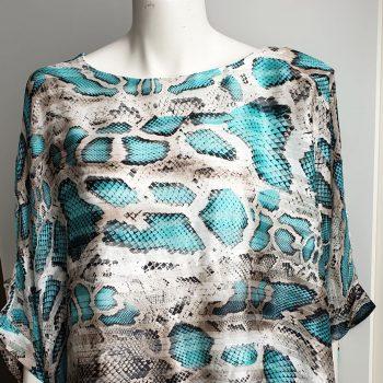 snake aqua top